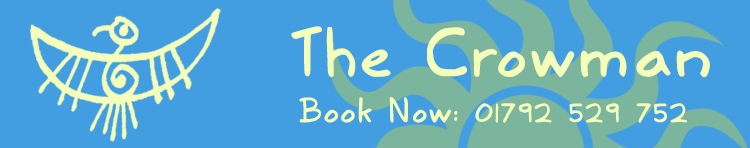 The Crowman.Net - Book now: 01792 529752